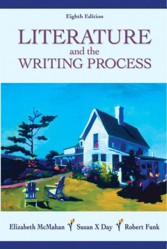 Literature and the Writing Process 9780132248020