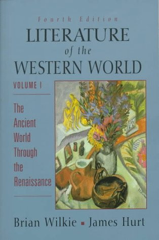 Literature of the Western World 9780132208727
