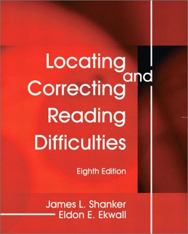 Locating and Correcting Reading Difficulties 9780130313959