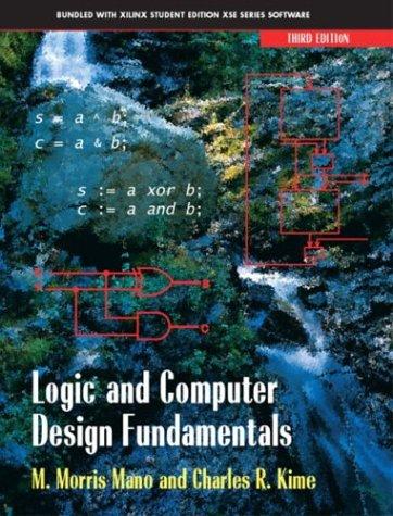 Logic and Computer Design Fundamentals 9780131405394