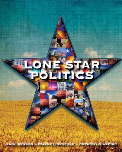 Lone Star Politics 9780136057697
