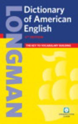 Longman Dictionary of American English [With CDROM] 9780132449779