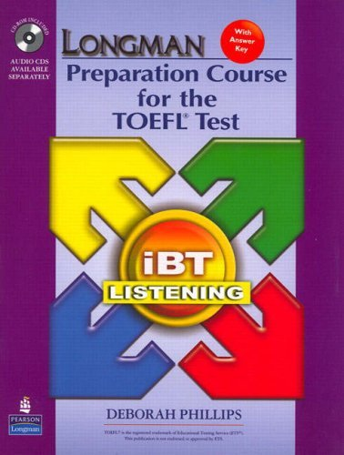 Longman Preparation Course for the TOEFL Ibt: Listening