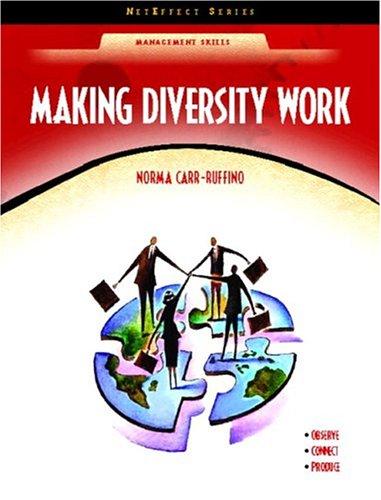 Making Diversity Work (Neteffect Series) 9780130485120