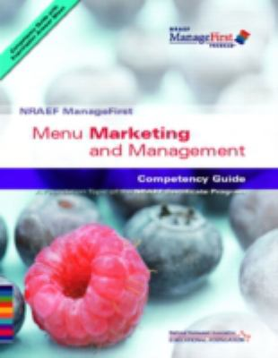 ManageFirst: Menu Marketing and Management with Pencil/Paper Exam 9780132222013