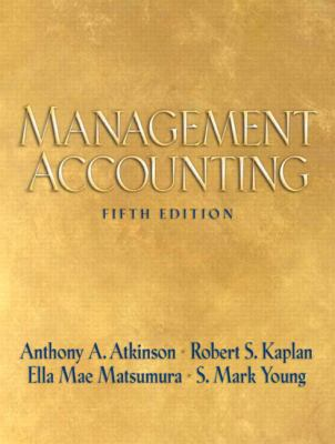 Management Accounting 9780136005315