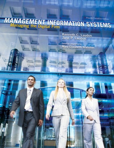Management Information Systems: Managing the Digital Firm 9780131598430
