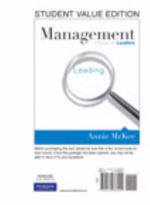 Management: A Focus on Leaders, Student Value Edition 9780132666909