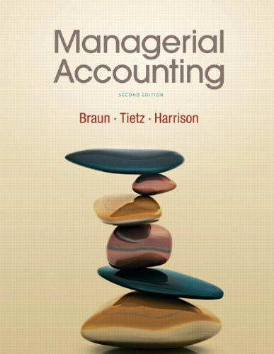 Managerial Accounting 9780136091165
