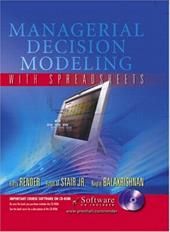 Managerial Decision Modeling with Spreadsheets and Student CD-ROM [With CDROM]