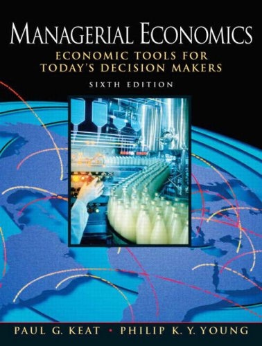 Managerial Economics 9780136040040