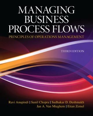 Managing Business Process Flows 9780136036371