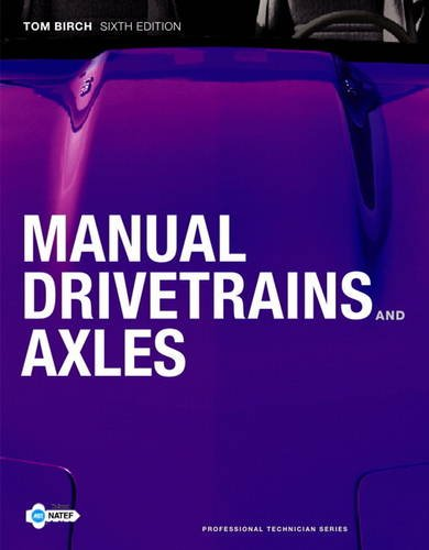 Manual Drivetrains and Axles 9780135123621