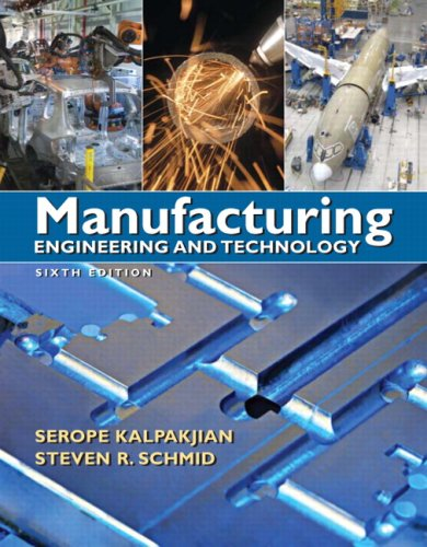Manufacturing Engineering and Technology 9780136081685