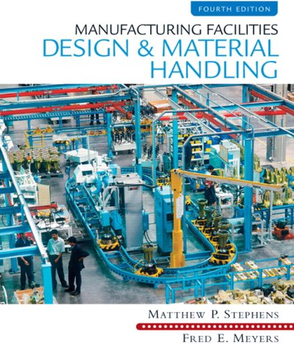 Manufacturing Facilities Design and Material Handling 9780135001059