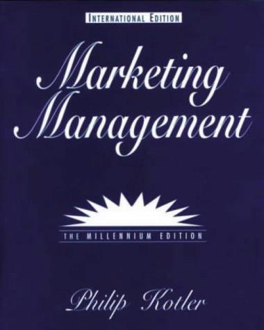 Marketing Management (International Students) 9780130156846