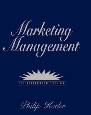 Marketing Management 9780130122179