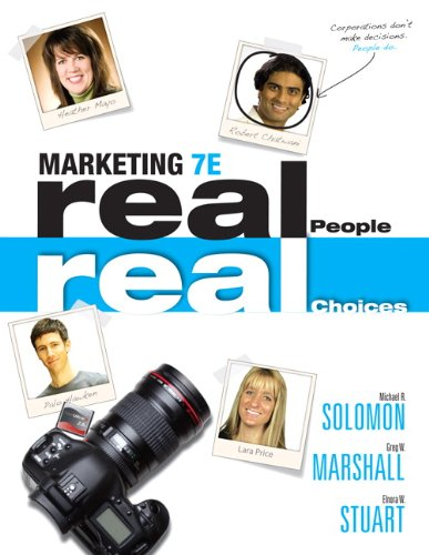Marketing: Real People, Real Choices 9780132176842