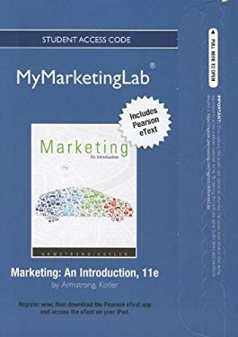 Marketing Student Access Code: An Introduction 9780132749558