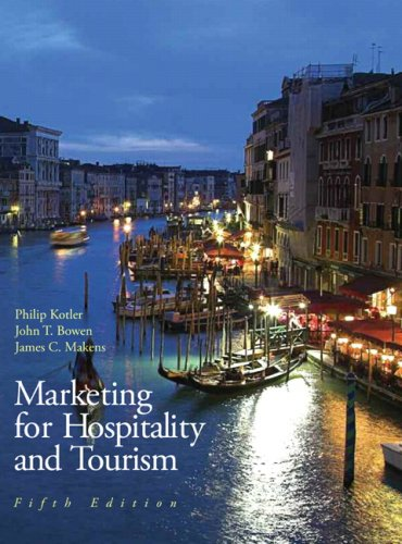 Marketing for Hospitality and Tourism 9780135045596