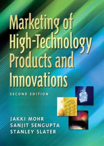 Marketing of High-Technology Products and Innovations 9780131411685