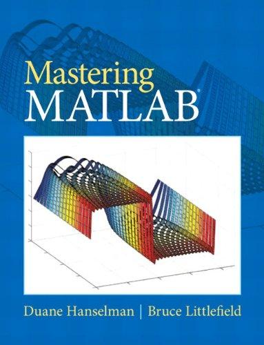 Mastering MATLAB 9780136013303