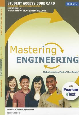 MasteringEngineering for Mechanics of Materials Standalone Student Access Code Card 9780132719391