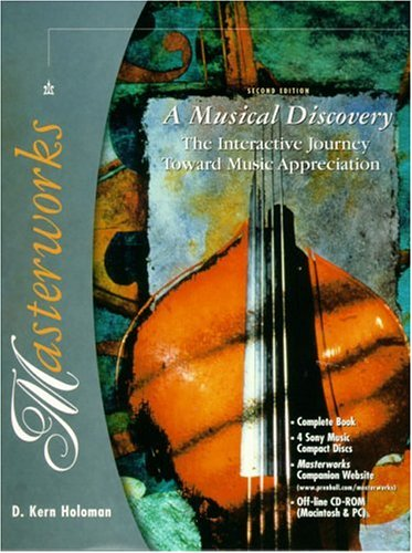 Masterworks: A Musical Discovery [With CD-ROM] 9780130205438