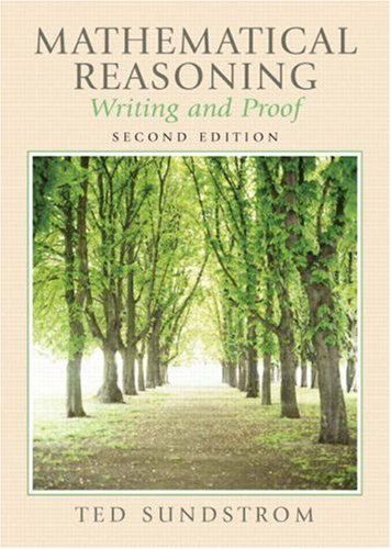 Mathematical Reasoning: Writing and Proof 9780131877184