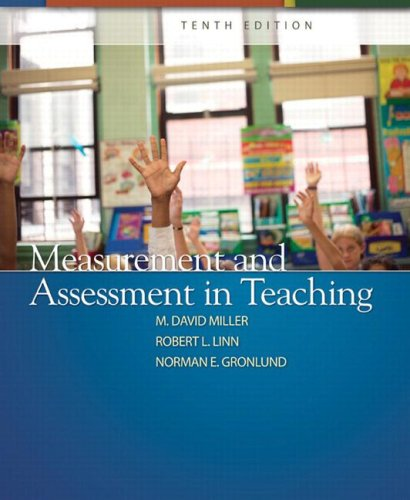 Measurement and Assessment in Teaching 9780132408936