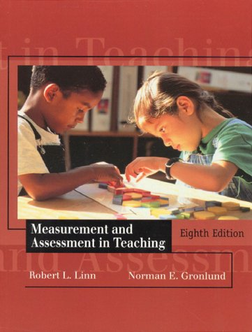 Measurement and Assessment in Teaching 9780138783563
