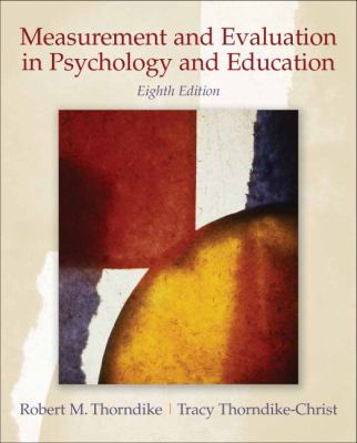 Measurement and Evaluation in Psychology and Education 9780132403979