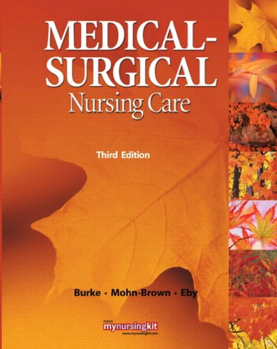 Medical-Surgical Nursing Care 9780136080046