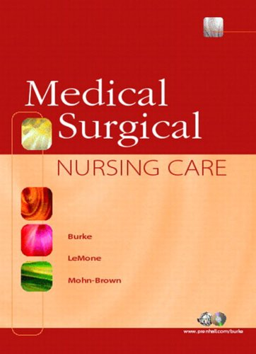 Medical-Surgical Nursing Care [With CDROM] 9780130281623
