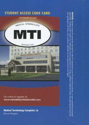 Medical Terminology Interactive -- Access Card -- For Medical Terminology Complete 9780132936293