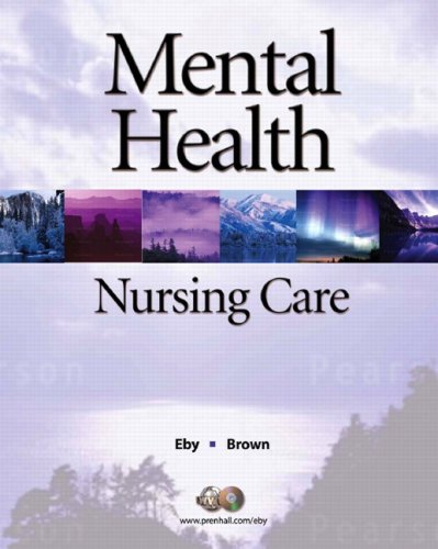 Mental Health Nursing Care 9780136136927