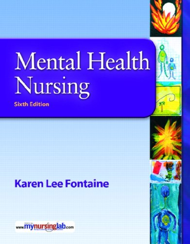 Mental Health Nursing [With CDROM]