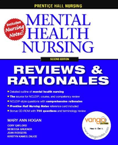 Mental Health Nursing [With CDROMWith Nursing Notes] 9780132240772