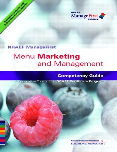 Menu Marketing and Management: Competency Guide 9780131589056