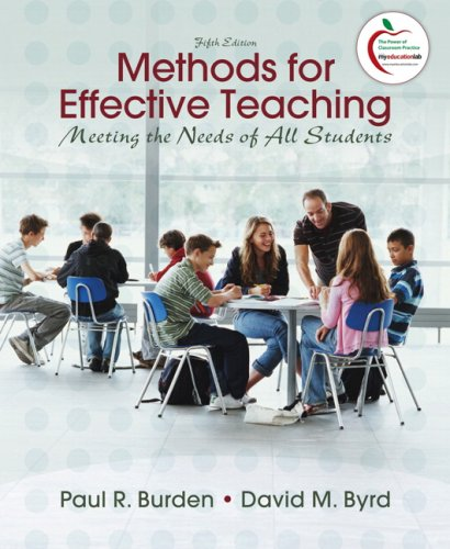 Methods for Effective Teaching: Meeting the Needs of All Students 9780137008049