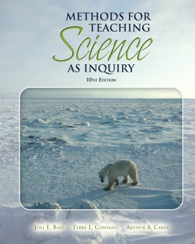 Methods for Teaching Science as Inquiry 9780132353298