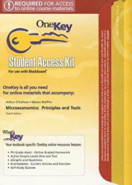 Microeconomics Student Access Kit for Use with Blackboard: Principles and Tools 9780131858336