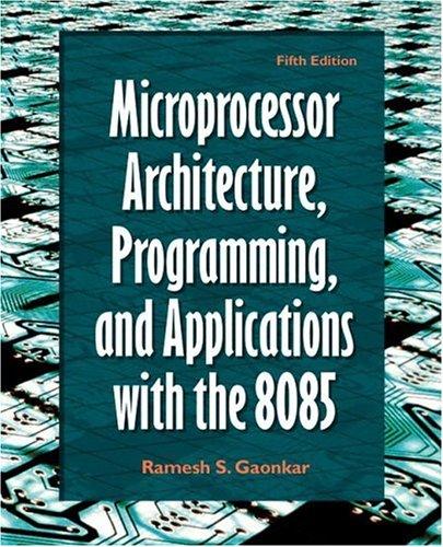 Microprocessor Architecture Programming