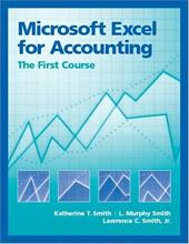 Microsoft Excel for Accounting: The First Course 338945