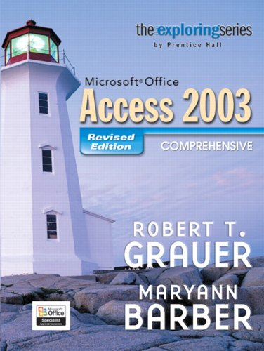 Microsoft Office Access 2003 Comprehensive 9780131877412