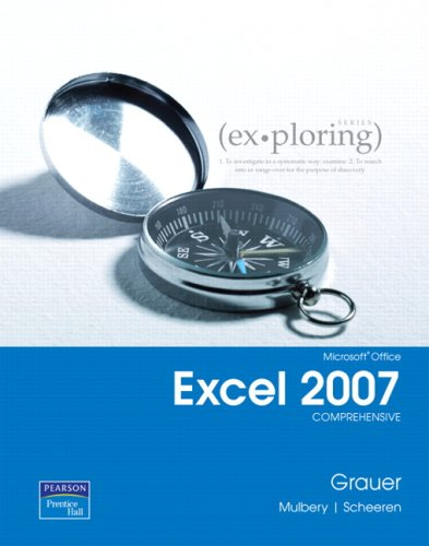 Microsoft Office Excel 2007 Comprehensive 9780131574656