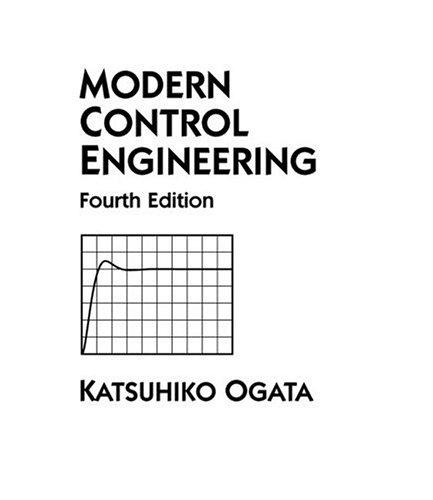 Modern Control Engineering 9780130609076