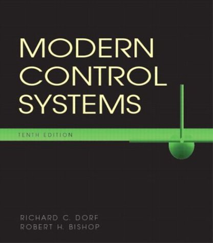 Modern Control Systems 9780131457331
