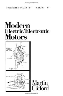Modern Electric/Electronic Motors 9780135933367
