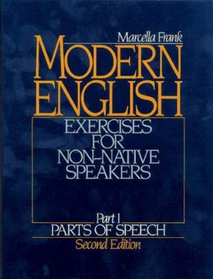 Modern English: Parts of Speech 9780135938317